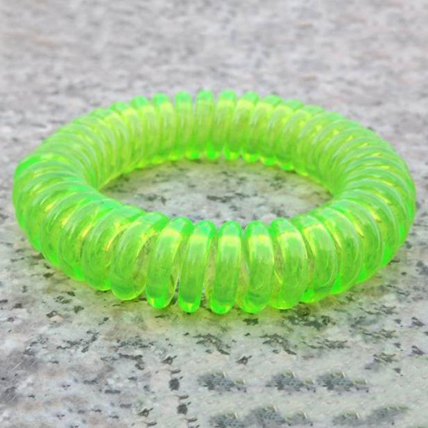 Squillare Il Telefono di Estate Repellente della zanzara Oli Vegetali Naturali Phone Strap Elastico Anti-zanzara Braccialetto A Spirale Polso della Mano