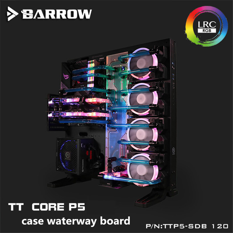 Barrow Water Cooling Reservoir Waterway Board Aurora LRC 2 0 5v 3pin for TT Core P5