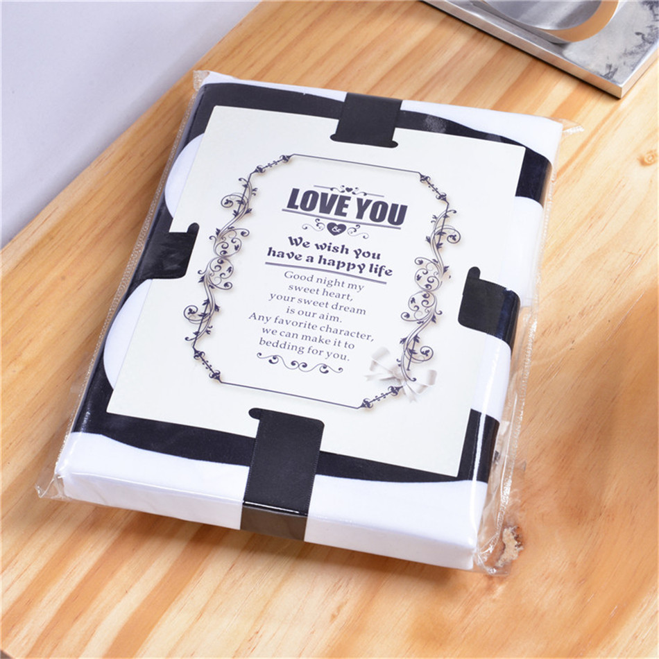 MR MRS Decorative White Couple Pillow Case Pillowcase Cover Home Decoration Gift One Pair Pillows Bedding Set Bedding Outlet  (10)