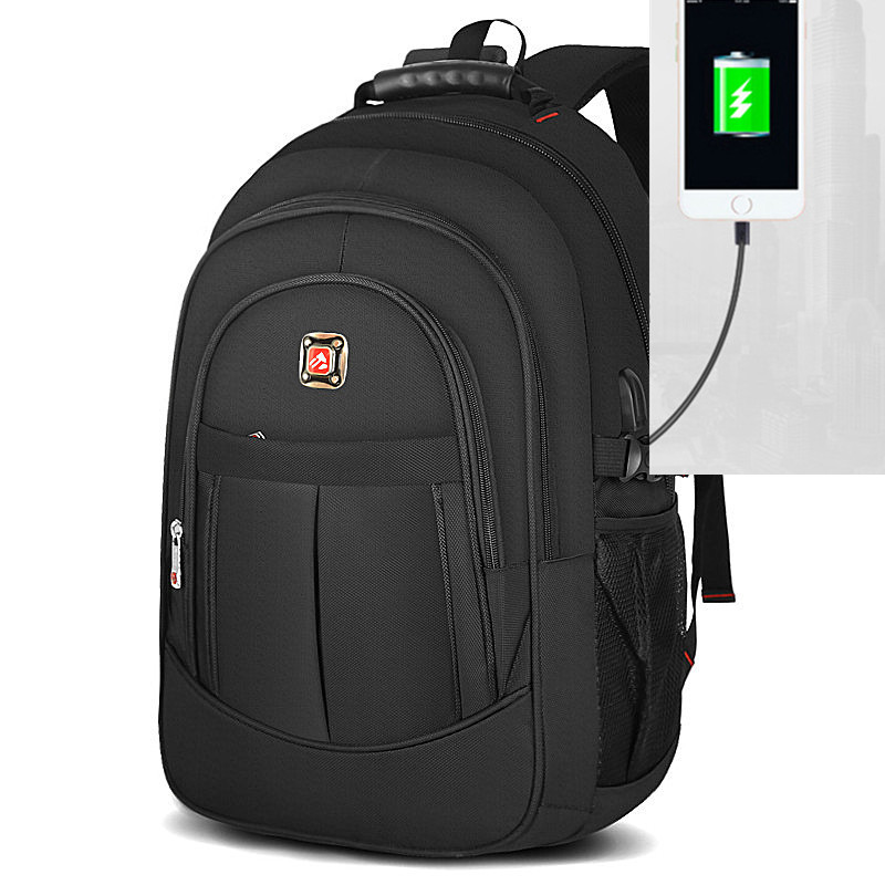 17 Inch Usb Quality Swiss Waterproof Men Sac A Dos Laptop Backpack Men Male Waterproof  Backpacks Usb Charger Colleage Mochila