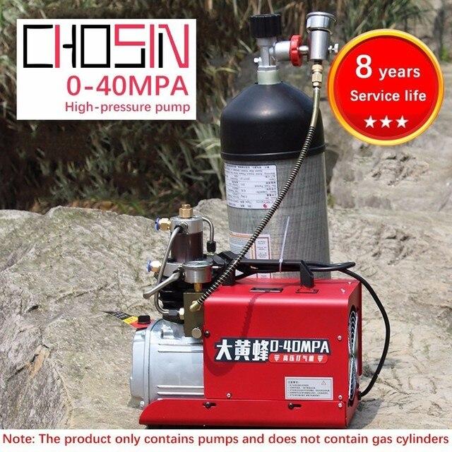 30MPa High Pressure PCP Air Compressor Pump Scuba Diving Inflator 220V 300Bar