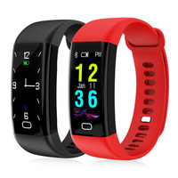Smart Waterproof Bracelet Heart Rate Monitor Blood Pressure Wristband Fitness Tracker Smartband Color Sport Watch forIOS Android