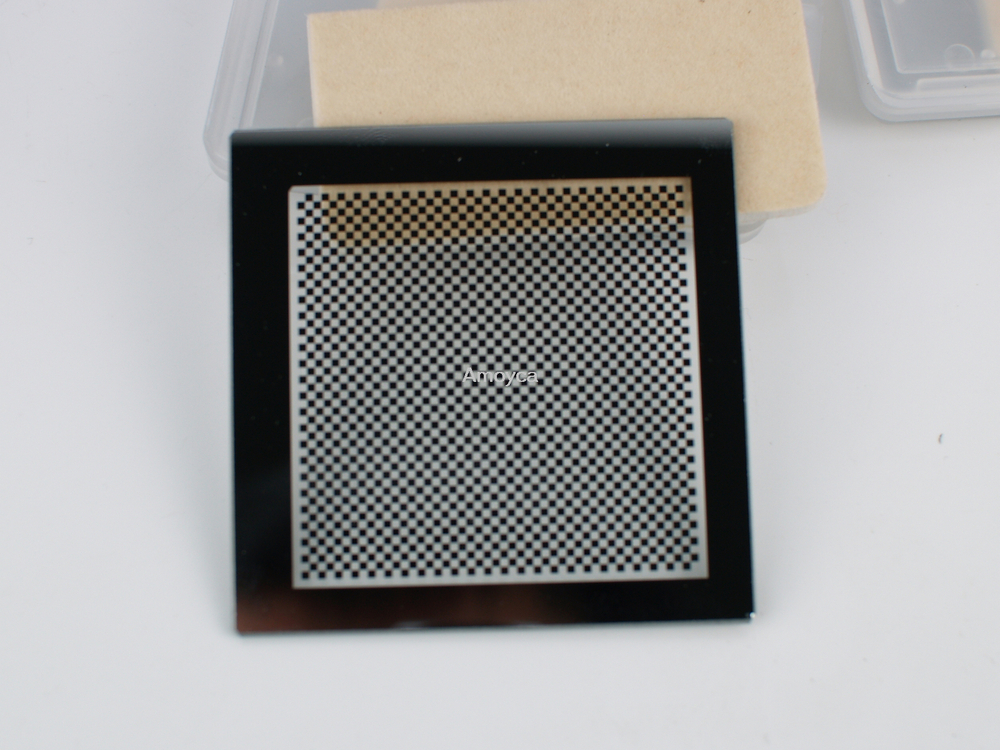 Chessboard target, machine vision,OpenCV, Correct the lens distortions,calibrate camera 1X1mm
