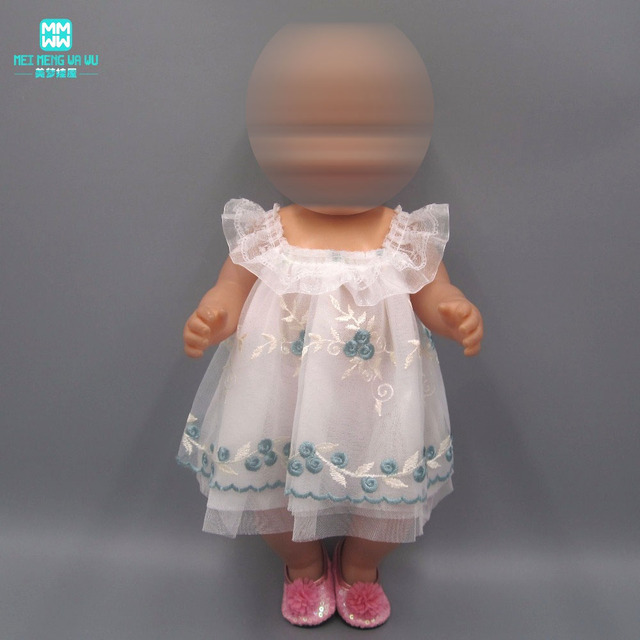 Doll Clothes for 18inch 45cm American' doll and baby doll accessories fashion Ballet princess dress evening dress