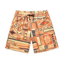 2019 Summer Mens Clothing Beach Board Shorts Travel Short Surf Bermuda Print Quick Dry Breathable Swimwear