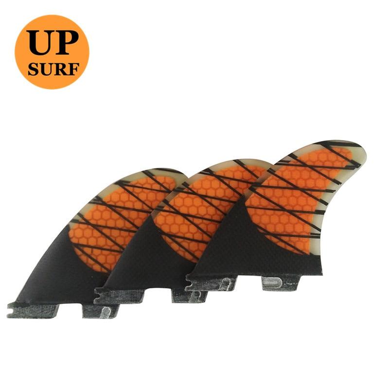 فیبر کربن FCS II Quilhas FCS2 Fin Orange K2.1 فیبرهای - ورزش های آبی