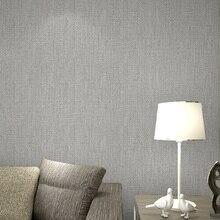 Moderne Klarwäsche Tapete Faux Grasscloth Wand Papier Realistische  Geflochtenem Stroh Wandbekleidung Grau Beige Taupe(China