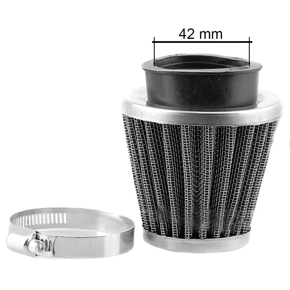 Motorcycle POD Air Filter Cleaner 35/39/42/44/48/50/52/54/60mm Filters for ATV Pit Dirt Bike NJ88