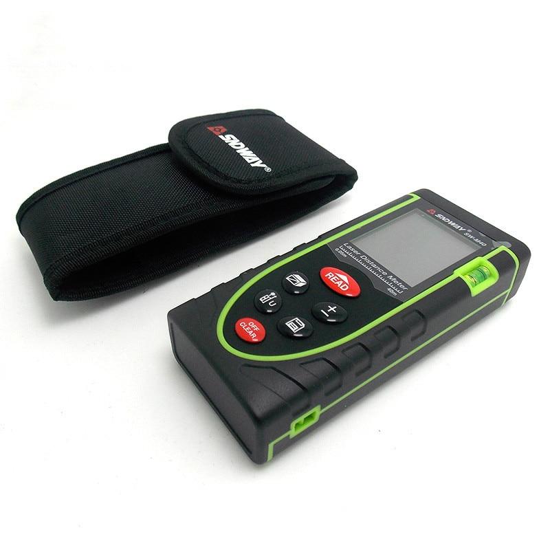 Handheld Rangefinder Laser Distance Meter Digital Laser Range Finder USB Tape Measure 60M Tester Area/volume/Angle Tester tool 60m handheld rangefinder laser distance meter digital laser range finder laser tape measure mileseey s9