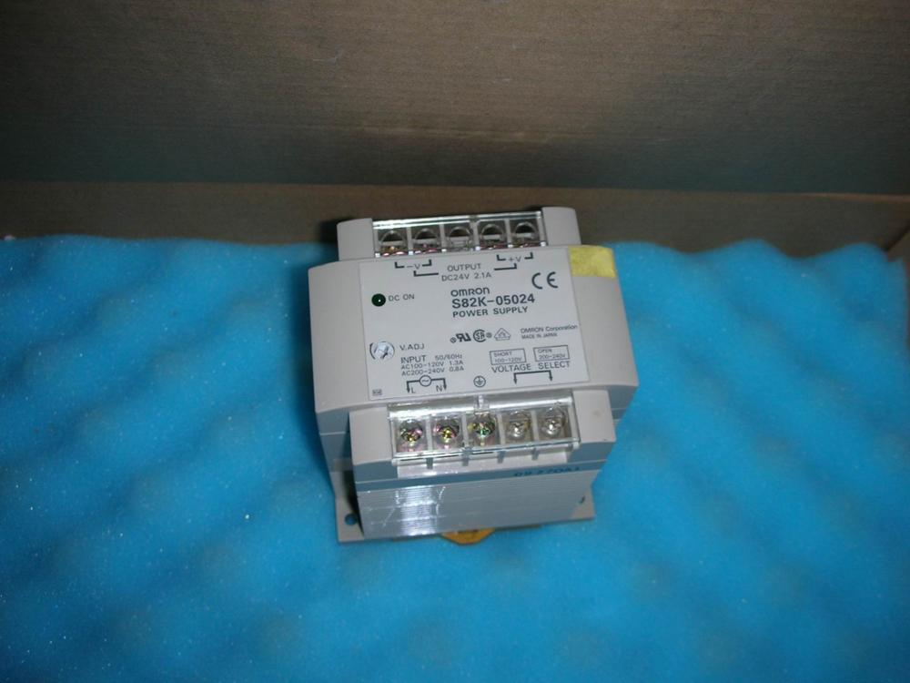 1PC USED OMRON  S82K-05024  1pc used omron s8vs 06024