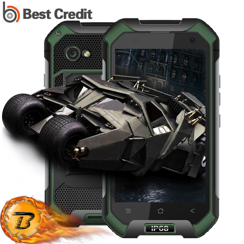 Цена за Blackview BV6000S Мобильного Телефона Android 6.0 MTK6735 Quad Core 4 Г LTE 2 ГБ + 16 ГБ 4200 мАч IP68 водонепроницаемый Смартфон
