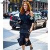 Women Hoodies Sweatshirts Long Sleeve Irregular Off Shoulder With Hat Sequin Flowers New Arrive LY289