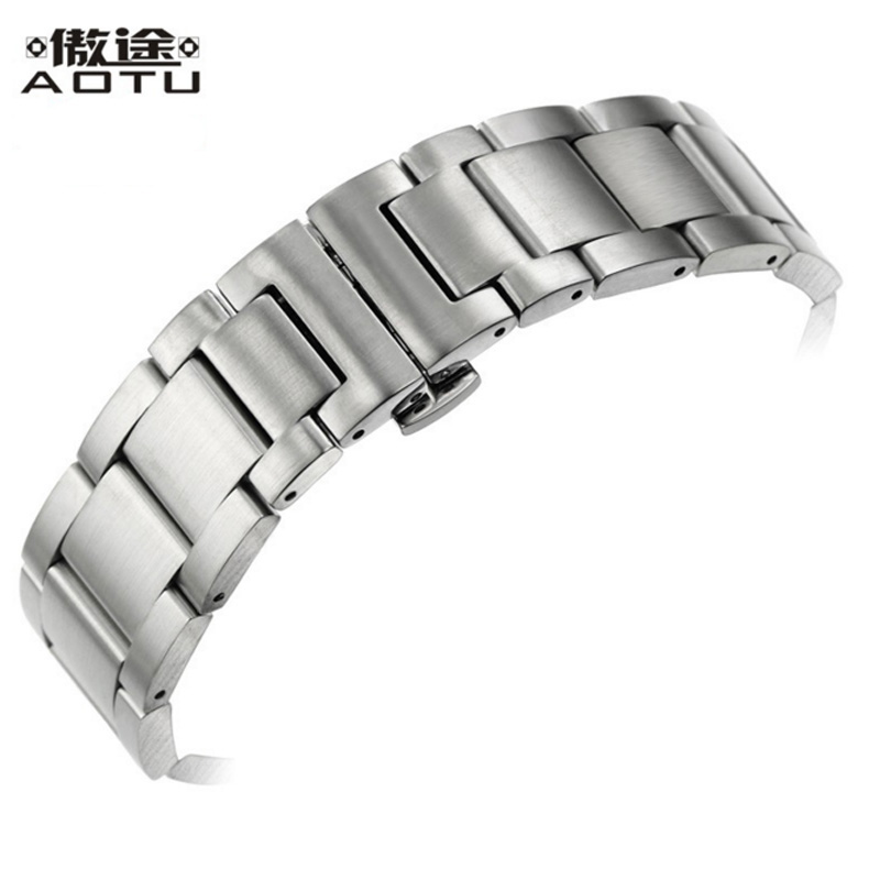 Stainless Steel Watchbands For Tissot 1853 T044 PRS516 Men Watch Straps 20MM Metal Watch Bracelet Belt Top Quality Watch Band