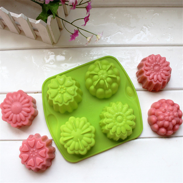 Flower Silicone Soap Mold