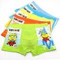 5 Pcs/lot Modal Despicable Me/Minions Kids Boys Underwear Children's Pants Baby Boxer Underpants Briefs Girls Panties Underware