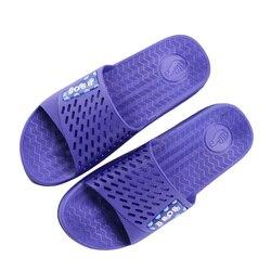 New arrival summer brand men slippers soft pvc hollow flat non slip indoor slides home bathroom.jpg 250x250