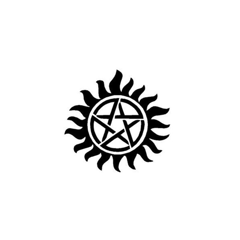 Supernatural Anti Possession Vinyl Sticker Bestseries Shop