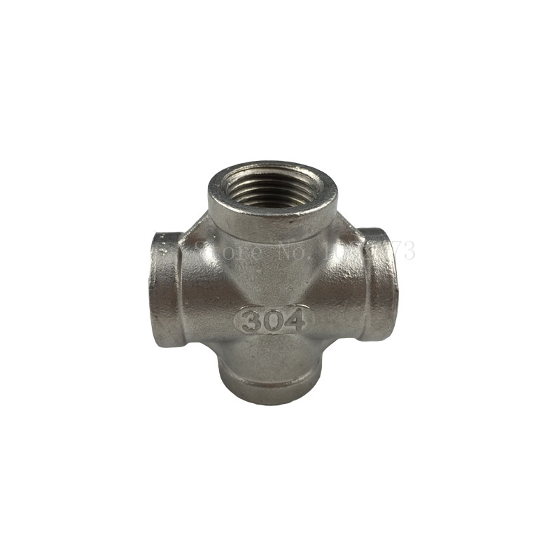 New Stainless Steel 304 Cross Thread Pipe Fitting - 12BSP, Homebrew Hardware, Pump fitting (7)