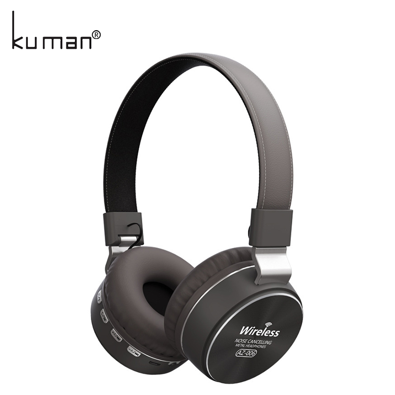 Kuman Sports Headsets Stereo Wireless Headphones HIFI Bluetooth Earphone with 3.5mm Conversion Line For Phone PC Gaming YL-HH2 цена и фото