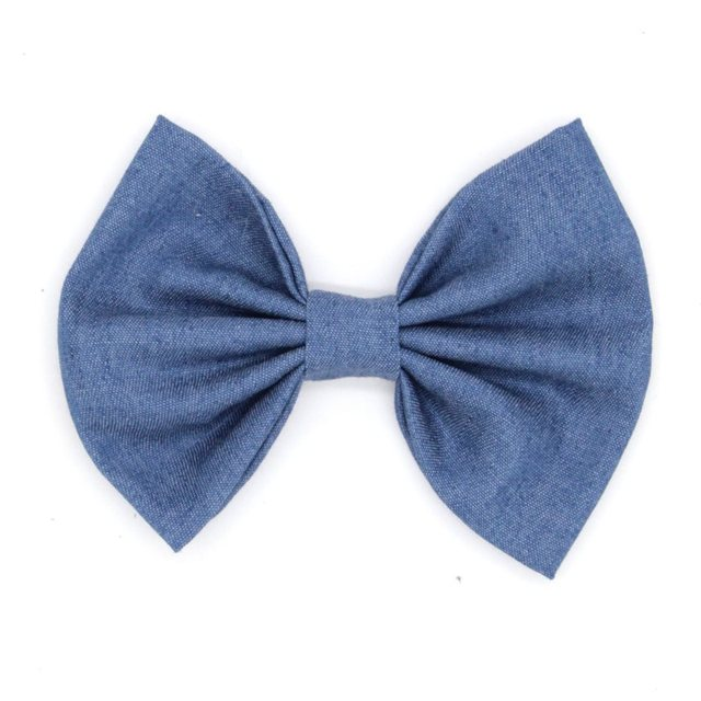 12pcs/lot 5'' Big Cute Denim Hair Bows WITHOUT Clips,Messy Hair Bow For Children Headband, Baby Hair Accessories