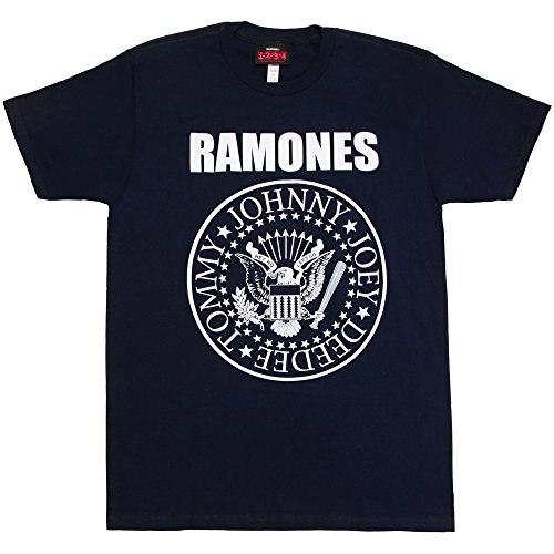 Custom Printed Tops Hipster Tees T Shirt Impact Men'S Ramones Presidential Seal T Shirt
