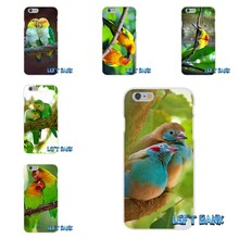 For Samsung Galaxy A3 A5 A7 J1 J2 J3 J5 J7 2016 2017 Love Birds Perfect color combo Soft Silicone TPU Transparent Cover Case(China)