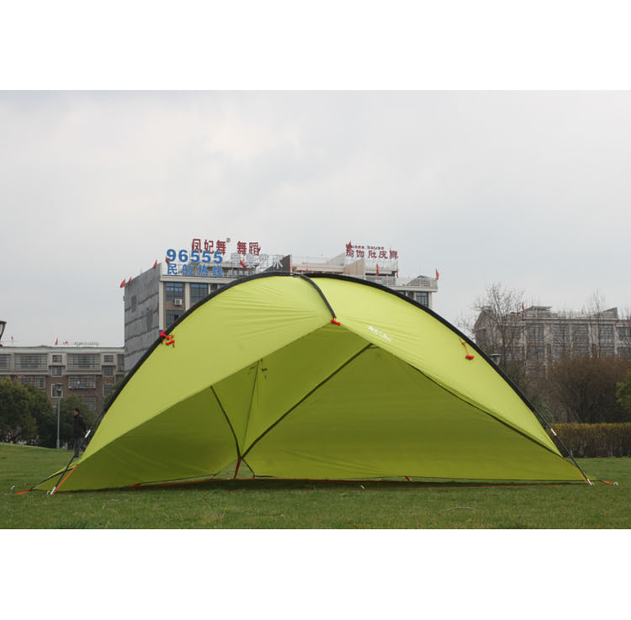 Ultralarge Anti-UV 480*480*480*200cm 4-6 Person Use Beach Tent Camping Sun Shelter With 2 Walls
