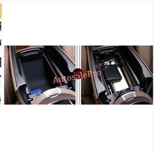 Impulsión de la Mano izquierda Negro Interior Titular Caja de Almacenamiento Apoyabrazos de Centro Consola Para Mercedes Benz Clase E W213 2017