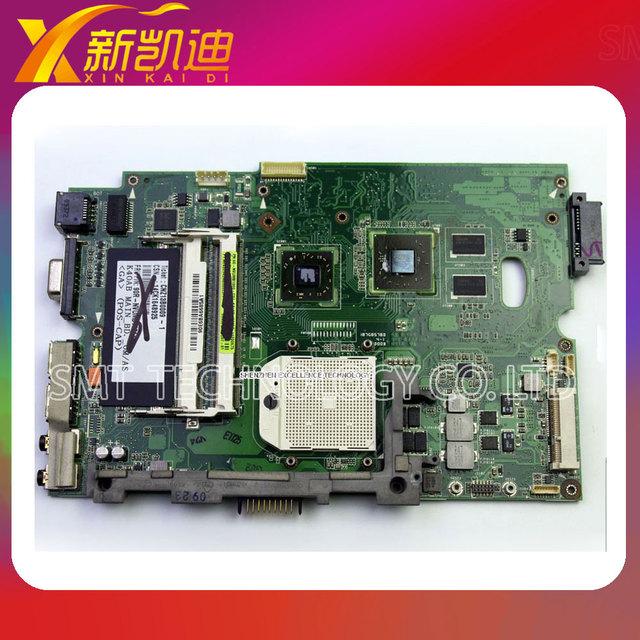 X5dab k40ab madre del ordenador portátil para asus k50ab k50ad k50af k40ad k40af x8aaf x5daf mainboard ddr2 probó por completo