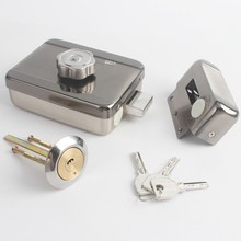 Thuis gate Elektrische deurslot motor drive lock voor video deurtelefoon toegangscontrole systeem (niet wateproof)