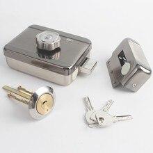 ホームゲート電動ドアロックモータ駆動ロックビデオドア電話アクセス制御システム (しない wateproof)