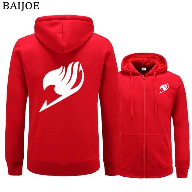 Fairy Tail Sweatshirts Zipper Hoodie