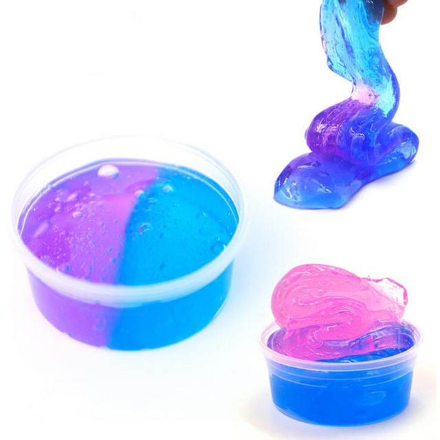 50g Safe Dynamic Fluffy Slime plastic clay Light Clay colorful Modeling Polymer Clay Sand Fidget Plasticine Gum For Handmade Toy