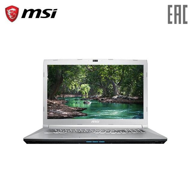 "Ноутбук игровой MSI PE72 8RC 17,3 ""/i7-8750H/8 ГБ/1 ТБ + 128 ГБ/GTX 1050/NoODD/Dos/Silver (9S7-179F43-068)"