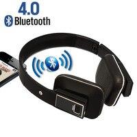 Fones De Ouvido sem fio Bluetooth Dobrável Sobre A Orelha Fones de Ouvido Bluetooth Estéreo Microfone Embutido para Iphone Samsung LG Telefone Inteligente