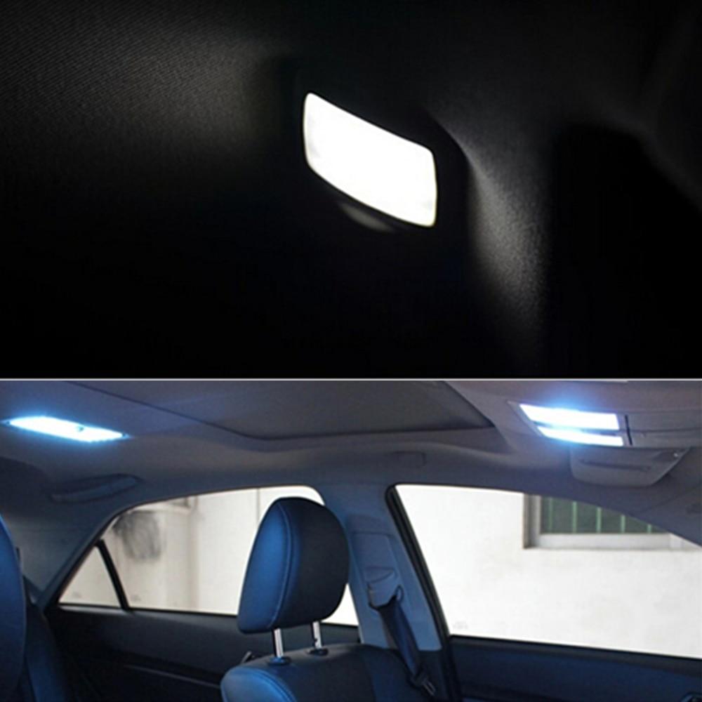 Parking LED Interior Light Bar Kit For Toyota Corolla 2003 To 2013 Car LED Dome Map Trunk Light Plate 6pcs Per Set Car Styling