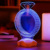 Estilo múltipla 3D Conduziu a Iluminação Da Lâmpada de Madeira Lâmpada Humor Bulbificação Luz