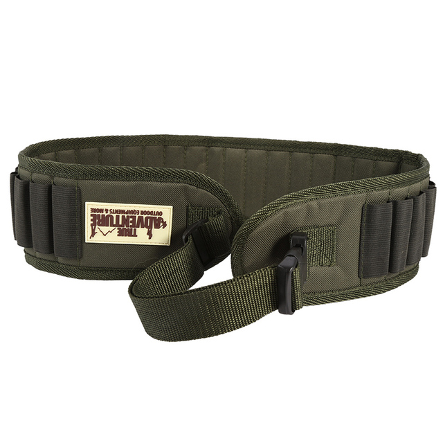 Tactical Military 30/27 Round Shell Bullet Ammo Carrier 1200D Nylon Waist Belt 12 Gauge Ammo Holder Airsoft Hunting Accessory 1