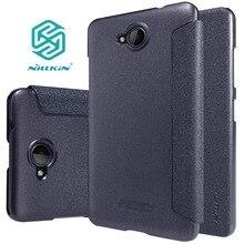 Для Microsoft Lumia 650 чехол Nillkin Sparkle Leather Case для Microsoft 650 телефон случаях Filp чехол для Lumia 650 защитная Чехол