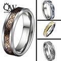 Queenwish 6/8 мм Кельтский Дракон Из Карбида Вольфрама Кольцо Соответствующие Обручальное кольцо Пара Обручальное Годовщина Ювелирные Изделия