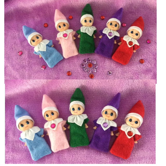 2018 newest baby elf boy & Girl 10pcs/20pcs/30pcs/50pcs for Kids Christmas New Year Tradition Gift цены