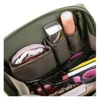 Личность косметичка Для женщин Макияж сумка несессер моды первой необходимости составляют случае организатор CB034