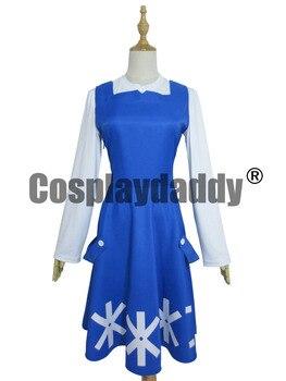 Custom Made Anime Movie Wolf Children Cosplay Costume Ame and Yuki Yuki Dress фото