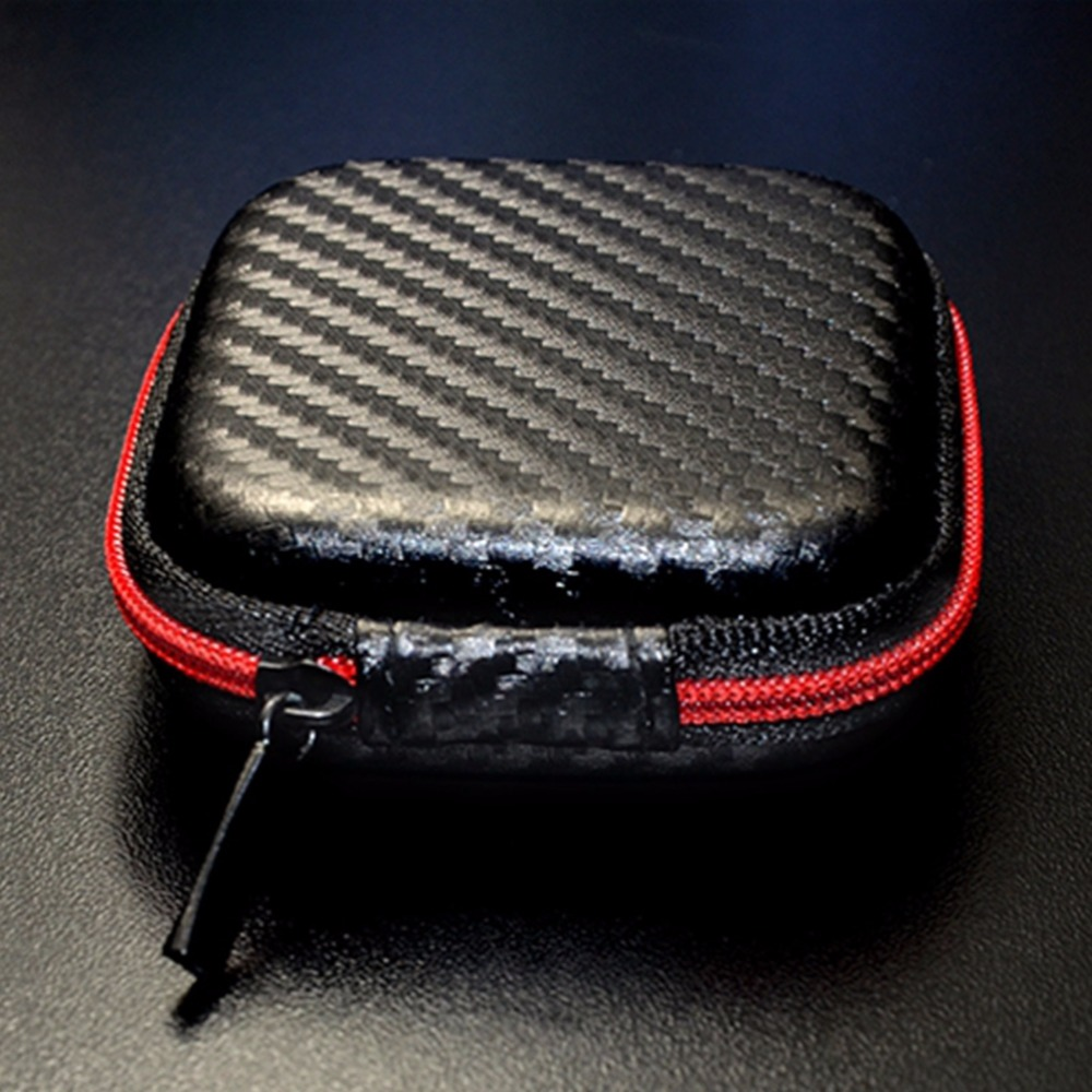 Image 2 - Portable Mini Earphone Case Box Hard EVA Headphone Storage Bag For Airpods Earpod Earbud Wireless Bluetooth Earphone Accessories-in Earphone Accessories from Consumer Electronics