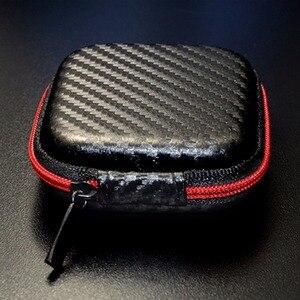 Image 2 - ポータブルミニイヤホンケースボックスハードevaヘッドホン収納袋earpodインナーイヤー型ワイヤレスbluetoothイヤホンアクセサリー