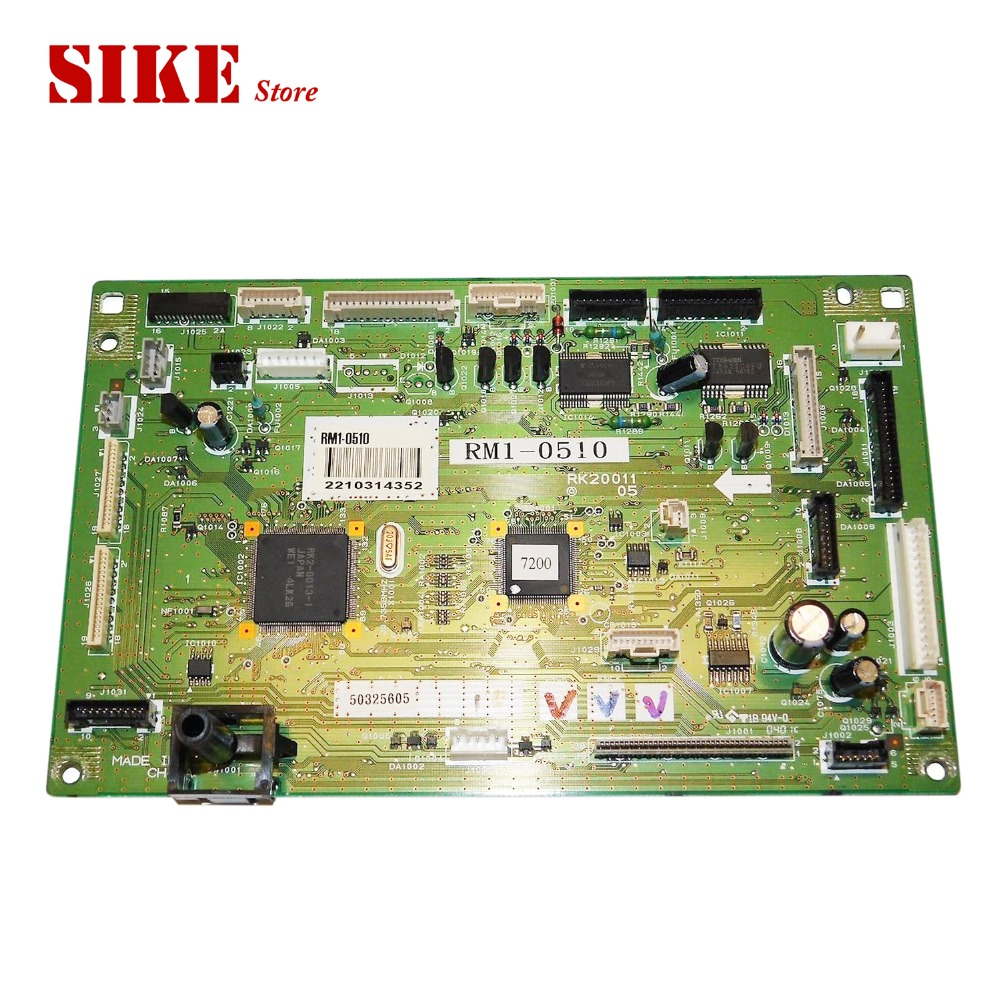 RM1-0510 DC Control PC Board Use For HP 3500 3550 HP3500 HP3550 DC Controller Board mr1 2656 mr1 2651 rm1 4098 dc control pc board use for hp 5200 5200lx 5200l 5200n 5200tn 5200dtn dc controller board