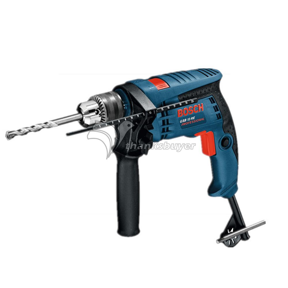 ФОТО Bosch Power Tool BOSCH GSB13RE Impact Percussion Drill Electric Hand Drill Small Hammer