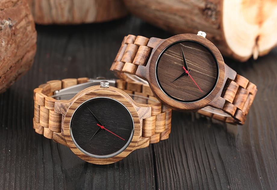 YISUYA Wooden Watches Quartz Analog Men Bamboo Modern Wristwatch Nature Wood Top 2018 Creative Sports Clock saat Xmas Gifts (15)