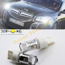 2x6000 K белый высокой мощности XBD чипы светодиодный светильник для парковки и дневной пробежки светильник DRL светильник источник для Opel Insignia