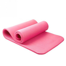 free shipping 10mm thick exercise yoga mat pad nonslip lose weight exercise fitness folding gymnastics mat for fitness